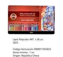 Lapices De Colores Koh-I-Noor Polycolor Art x 36 Largos En Lata Cod. 089071043825