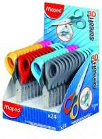Tijera Escolar Maped Sensoft 3D 13 Cms. Cod. 169300
