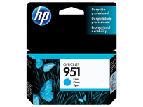 Cartucho Hewlett Packard 951 (CN050AL) Cyan 8 Ml. P/Officejet Pro 8100/Officejet Pro 8600 Cod. Ci-Hp-050A00
