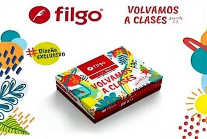 Caja Filgo Vuelta a Clases x 11 Elementos Escolares Seleccionados + Actividades y Organizadores De Regalo. Cod Box-vac-004