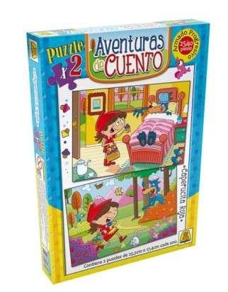 Puzzle Implas Caperucita Roja 25/40 Piezas. Cod.32