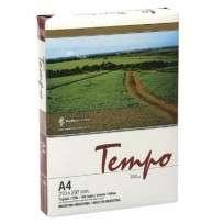 Resma Tempo A4 21 X 29,7 Cms 75 Grs. X 500 Hjs.  Cod. Rta475