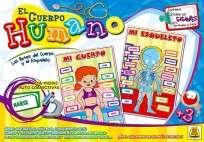 Juego Didactico Y Educativo Implas El Cuerpo Humano Cod.350