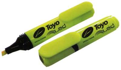 Resaltador Toyo Led / Video 3000 Naranja Cod. 13110013002