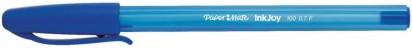 Boligrafo Paper Mate Kilometrico 100 Con Inkjoy Fine Azul x 12 Unid. Cod. 1903861