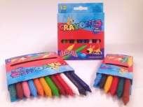 Crayon Señorita x  6 Unid. Cortos Cod. 106-01