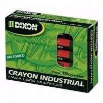 Crayon Dixon Industrial Rojo x 10 Unid. Cod. 200011Es