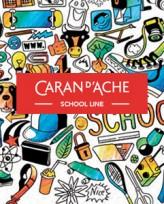 Tempera Caran Dache Gouache School X 13 Estuche Metal 1000-713 Cod. 206025001000713