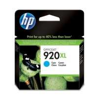 Cartucho Hewlett Packard 920 XL (CD972AL) Cyan Alto Rendimiento 7,5 Ml. P/Officejet 6000/6500 Cod. Ci-Hp-972A00