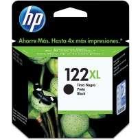 Cartucho Hewlett Packard 122 XL (CH563HL) Negro Alto Rendimiento 7,5 Ml. P/Deskjet 1000/2000 Cod. Ci-Hp-563H00