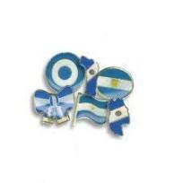 Pins Metalicos Esmaltados Nuevo Milenio  Nro.2 Motivos Patrios Escudo  Cod.2031