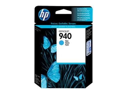 Cartucho Hewlett Packard 940 (C4903AL) Cyan 28 Ml. P/Officejet 8000/8500 Cod. Ci-Hp-490300