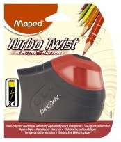 Sacapuntas Maped Turbo Twist Electrico En Blister Cod. 26030