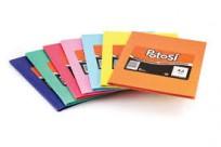 Cuaderno Potosi 16 x 21 Tapa Carton Araña Rojo x  84 Hjs. Rayado Cod. 366116