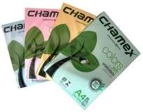 Resma Chamex Colors A4 21 X 29,7 Cms 75 Grs. Celeste X 500 Hjs.  Cod. Rca475-Ce