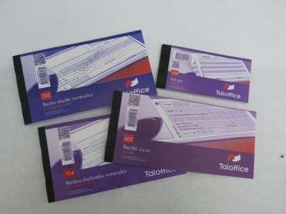Talonario Taloffice 902 Recibo Sueldos Y Jornales 50 Jgs. Duplicado Cod.902