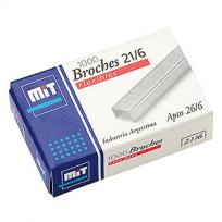Broche Mit Para Abrochadora 21/6 x 5000 Unid. Cod. 59