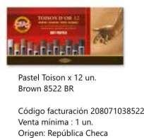 Pastel Toison Dor Soft Redondo x 12 Unid. Cod. 208071038522