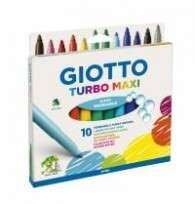 Marcador Escolar Giotto Turbo Maxi x 10 Unid. Cod. 454000Es