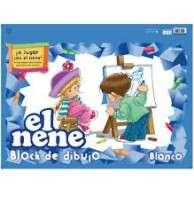 Block El Nene De Dibujo Nro. 6 Blanco x 24 Hjs. Cod. 215436