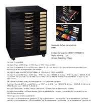 Gabinete De Lujo Para Artistas Koh-I-Noor 99000740000 (11 Cajones Con Elementos) Cod. 089071159900074