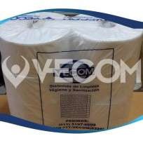 Papel Higienico Vecom Blanco Ecologico Rollo X 300 Mts. Bolsa x 8 Unid. Cod.Pl 0003