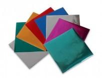 Papel Glace Luma Metalizado Sobre x 10 Hjs. 15 x 15 Cm.x 50 Sobres Para Origami. Cod. 11-08