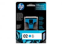 Cartucho Hewlett Packard  02 (C8771WL) Cyan 5 Ml. P/Photosmart 8250/8230/5180/C6180/C6280/C7280/D7160/C7180/D7360 Cod. Ci-Hp-877100