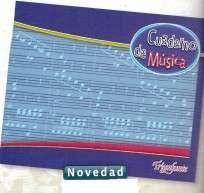 Cuaderno Triunfante De Musica x 20 Hjs. 90 G/M2 Cod. 418327