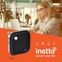 Parlante Instto Ingeo Bluetooth Negro Cod. Bs-In-Bs97B0