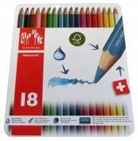 Lapices De Colores Caran Dache Fancolor x 18 Largos 1288-318 Cod. 08902528318