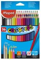 Lapices De Colores Maped Color Peps x 36 Largos Cod. 832017