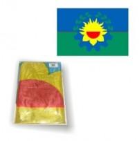 Bandera Bonaerense De Flameo Nuevo Milenio Poliamida. 90 X 150 Cm. Cod.4001/1