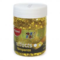 Tempera Maped Color Peps Effect Pote x 200 Ml./250 Grs. Yellow Sun Cod. 826945
