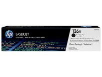 Toner Hewlett Packard 126A (CE310AD) Negro Dual P/Laserjet CP1025NW Cod. To-Hp-310D00