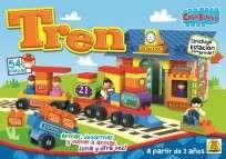 Juego Implas Bloques Y Construccion Creablocks Tren Cod.165