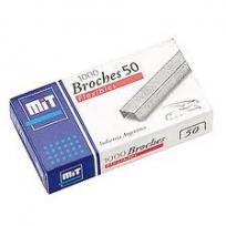 Broche Mit Para Abrochadora 50 x 1000 Unid. Cod. 70