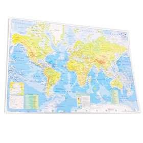 Mapa Mundo Cartografico Nro. 6 Cte .Americano Fisico-Politico Bolsa X 25 Unid. Cod. E-002-Fp