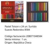 Pastel Toison Dor Soft Cuadrado x 24 Unid. Cod. 208071048584