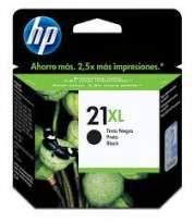 Cartucho Hewlett Packard  21 XL (C9351CL) Negro 12 Ml. P/Deskjet 3910/3920/3930/3940/Multifuncion 1410 Cod. Ci-Hp-351C00