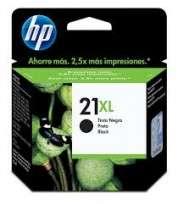 Cartucho Hewlett Packard  21 XL (C9351CL) Negro 12 Ml. P/Deskjet 3910/3920/3930/3940/Multifuncion 1410 Cod. Ci-Hp-351C00