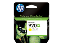 Cartucho Hewlett Packard 920 XL (CD974AL) Amarillo Alto Rendimiento 7,5 Ml. P/Officejet 6000/6500 Cod. Ci-Hp-974A00