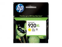Cartucho Hewlett Packard 920 XL (CD974AL) Amarillo Alto Rendimiento 7,5 Ml. P/Officejet 6000/6500 Cod. Ci-Hp-974A00