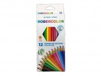 Lapices De Colores Pax  Robercolor  x 12 Largos Cod. 257100Na