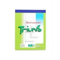 Block Triunfo Anotador Emblocado x 40 Hjs. Rayado Cod. 2PQ770020000171004