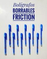 Roller Genvana Borrable A Friccion 0.7 Mm. Descartable x12 Unid. Color Azul Cod.13210070001