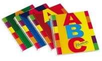 Cuaderno Rivadavia ABC 21 x 27 Con Espiral x  60 Hjs. Cuadriculado Cod. 359053