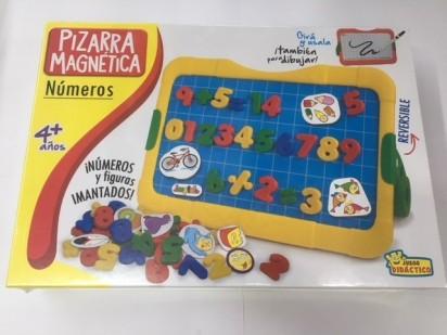 Juego Didactico Y Educativo Implas Pizarra Magnetica - Numeros Cod.239