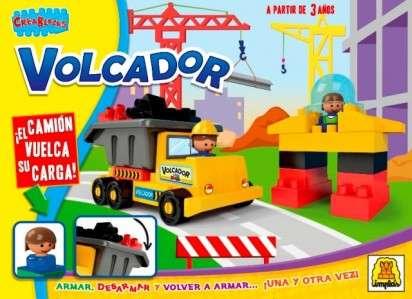 Juego Implas Bloques Y Construccion Volcador Cod.163