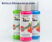 Acrilico Decoralba Decorativo Negro x  60 Ml. Cod. 8250-480/60